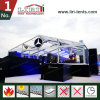 Decorated 20 to 60m Events Tent Transparent Wedding Party Tent with Lining Curtain