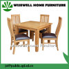 Oak Wood Dining Room Furniture Set with 4 Chair (W-DF-9051)