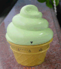 Icecream Shape Mechanic Timer Plastic Material