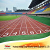 Rubber Athletic Track for School 400m Standard Track