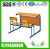New Design Classroom Furniture Double Desk and Chair (SF-35D)