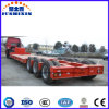 Hot Sale Heavy Duty Low Flatbed/Lowbed Semi Trailer