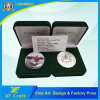 Customized Silver Plated Zinc Alloy Souvenir Coins with Free Design (CO39-A)