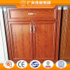 Wood Grain Color Aluminium Cabinet with Selected Drawer Slide