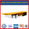 3 Axles Semi Trailer Flatbed Flat Bed Truck Semi Trailer for Sale