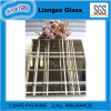 Champagne Art Glass with White Lines