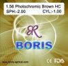 1.56 Photochromic Brown Hc 70/65mm Optical Lens