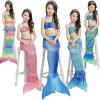 Personalized Kids Swimmable Mermaid Tail