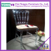 Clear Resin Napoleon Chair with Cushion