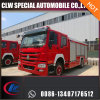 Bid Type 12000L Sinotruck Fire Extinguisher Foam Powder Water Tank Fire Fighting Truck