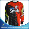 Custom Sublimated Sublimation Sports Long Sleeve Motorcycle Jerseys