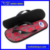 PE Male Slipper with Line Design Printting (T1697)