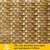 Wave Shape Glass Mosaic Mix Stone or Metal (S02)