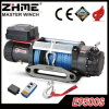 12V 4X4 9500lbs Recovery Electric Winch with Synthetic Rope