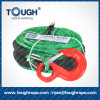 9.5mm 30m Dyneema Synthetic Winch Rope with Hook, Thimble, Protective Sleeve