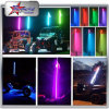 Buggy LED Light 6 Feet Longer New Design LED Pole Light with Flag, Color Changing RGB Function LED Sands Flag Antenna Light