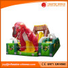 Tyrannosaurus 3 in 1 Castle Slide Combo Bouncy Castle (T6-211)