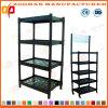 Plastic Supermarket Drinking Display Shelving Rack (ZHr-395)