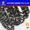 Poland 11.5mm Cutting Diamond Wire Saw 40 Beads Wire Saw for Concrete