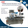 Ytsp500 Automatic Monoblock 4 Heads Paste and Liquid Filling and One Head Capping Machine 2 in 1