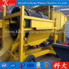 Mobile Gold Trommel Washing Plant/Heavy Duty Mobile Trommel Screen 100t/H