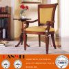 Solid Wood Armrest Wooden Dining Desk Chair