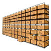 Metal Roll-out Bins Wooden Wine Box Sliding Storage Rack