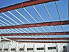 Steel Roof Frame with H Section Steel and Galvanized Purlin
