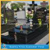 Poland Style Shanxi Black Gravestone and Tombstone