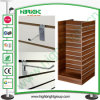 Slat Wall MDF Display Stand with Aluminum Inserts