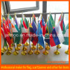 Desk Stainless Steel Metal Table Flag Banner