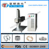 30W Rings Fiber Metal Laser Marking Machine with Competitive Price