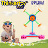 Plastic Windmill Construction Building Block Toy for Daycare