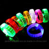 Clolorful Lighting LED PVC Bracelet with Logo Printed (4011)