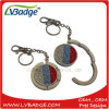 Promotional Gifts Metal Folding Purse Bag Hanger with Key Chain