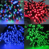 Multi Colors Solar LED Fairy String Lights Outdoor