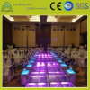 T-Show Wedding Party Event Aluminum Frame Plexiglass Movable Stage