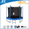 8FT Cheap Round Trampoline with Safety Net and Ladder