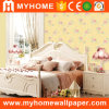 2016 High Grade Embossed Vinyl Wallpaper Price with Flower