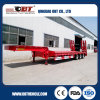 16m Three-Axle Heavy Duty Lowbed Flat Panel Semi Trailer