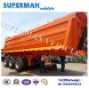Vietnam Heavy Truck 25cbm Tri-Axle Tipping Trailer Dumper
