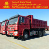 China 6*4 Tipper Truck Euro2 Dump Truck for Sale Export to Africa