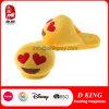 Emoji Fashion Warm Soft Plush Slipper Stuffed Emotion Toy