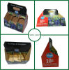Corrugated Six Pack Bottles Beer Wine Packaging Box Carriers