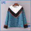 OEM Fashion Long Sleeve Top Blouse for Women Clothing