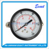 Black Steel Gauge-Back Connection Gauge-Pressure Gauge with U-Clamp