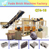 Brick Machinery Plant Concrete Block Making Machine with PLC Controller