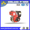 Horizontal Air Cooled 4-Stroke Diesel Engine L170f for Machinery