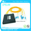 Optical Wdm Mux/Demux High Channel 4+1CH Plastic Box CWDM