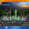 Outdoor Music Pool Fountain with Decorative Sculpture